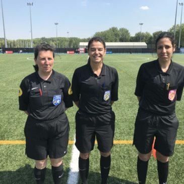 1/4 de Finale Elite Foot Féminin