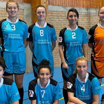 Futsal Féminin – Championnat Académique – La 1ère journée voit l'Artois et Valenciennes prendre la tête