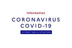 INFORMATION SUR LE CORONAVIRUS.