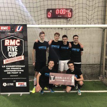 RMC FIVE CUP Universitaire – SKEMA et l'Artois en route pour Paris