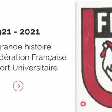 JOURNÉE INTERNATIONALE DU SPORT UNIVERSITAIRE : LA FFSU DÉVOILE SA FRISE HISTORIQUE.