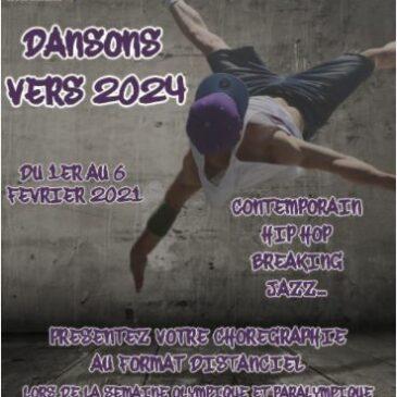 « DANSONS VERS 2024 » EN FORMAT DISTANCIEL : L'APPEL À PROJET EST LANCÉ !