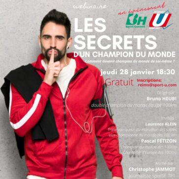 Webminaire : Les secrets d'un Champion du Monde