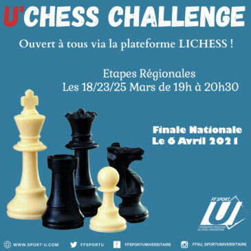 PARTICIPEZ AU U'CHESS CHALLENGE !