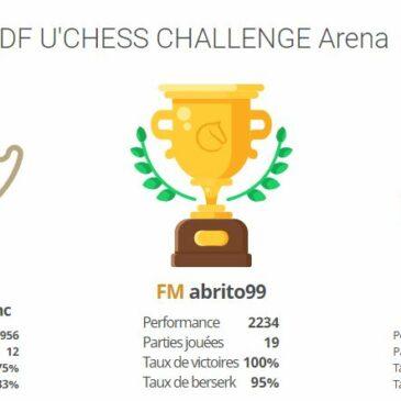 Résultats du 3ème Tournoi du 25 mars 2021