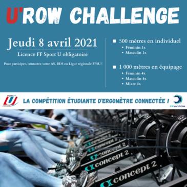U'ROW Challenge Amiens (Challenge Rameur connecté )
