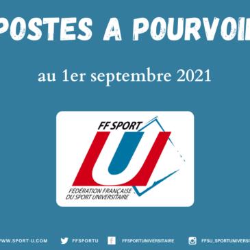 POSTES À POURVOIR À LA FF SPORT U.