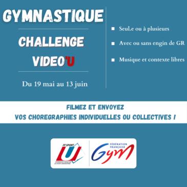 Challenge Vidéo'U Parkour GYMNASTIQUE RYTHMIQUE