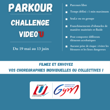 Challenge Vidéo'U Parkour GYMNASTIQUE