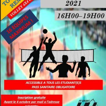 Tournoi de Rentrée Volley sur herbe 4X4 AMIENS